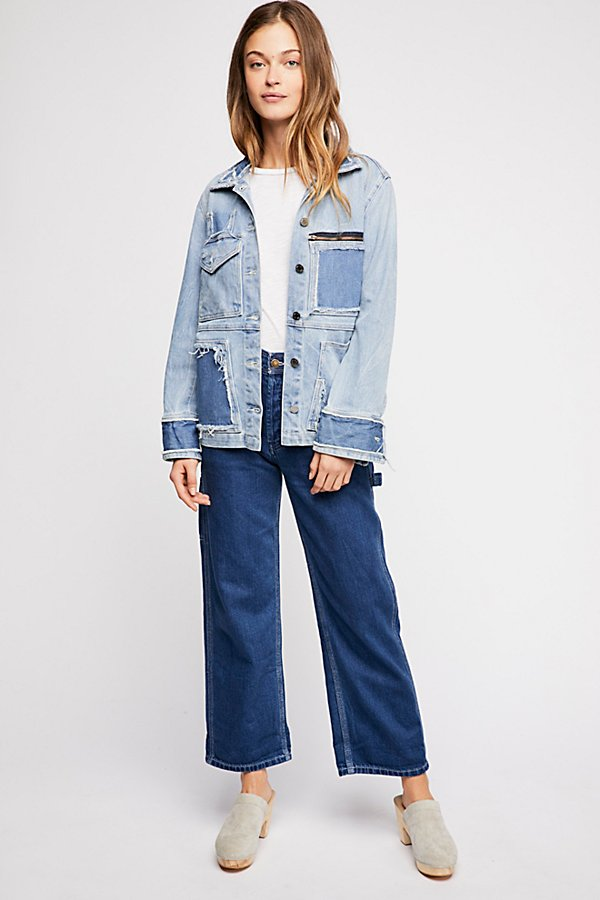 Slide View 4: Zadig & Voltaire Kick Destroy Denim Jacket