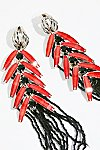 Thumbnail View 3: Don Quixote Crystal Duster Earrings