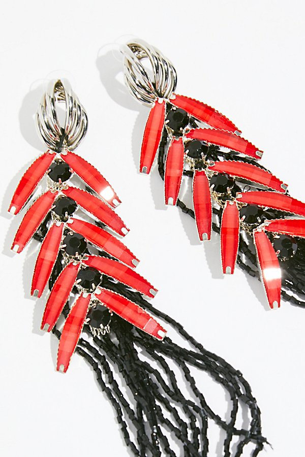 Slide View 3: Don Quixote Crystal Duster Earrings