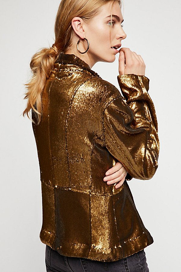 Slide View 4: Willow Sequin Jacket