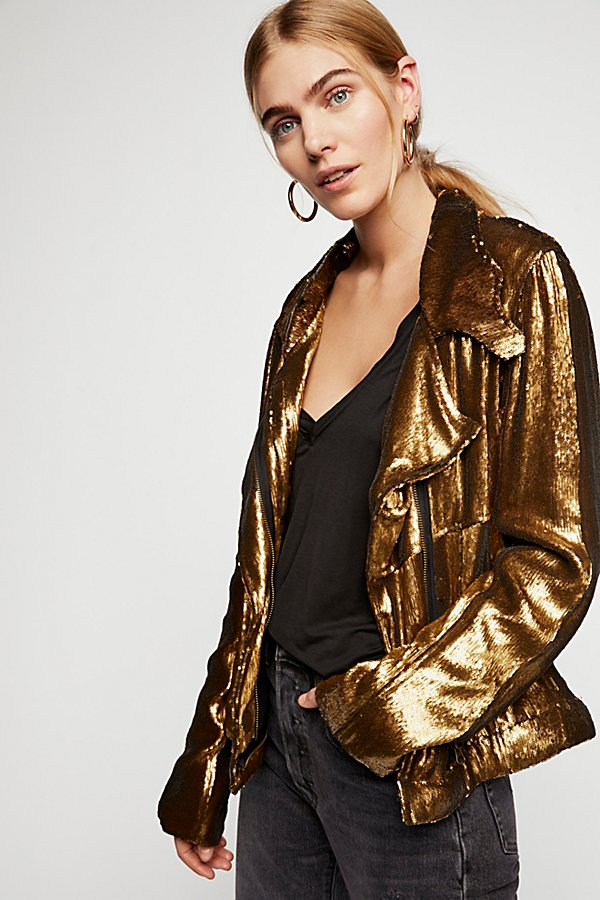 Slide View 1: Willow Sequin Jacket