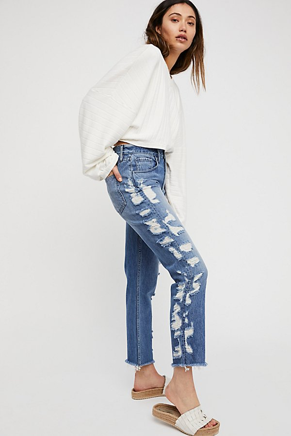Slide View 1: 3x1 Higher Ground Crop Jeans