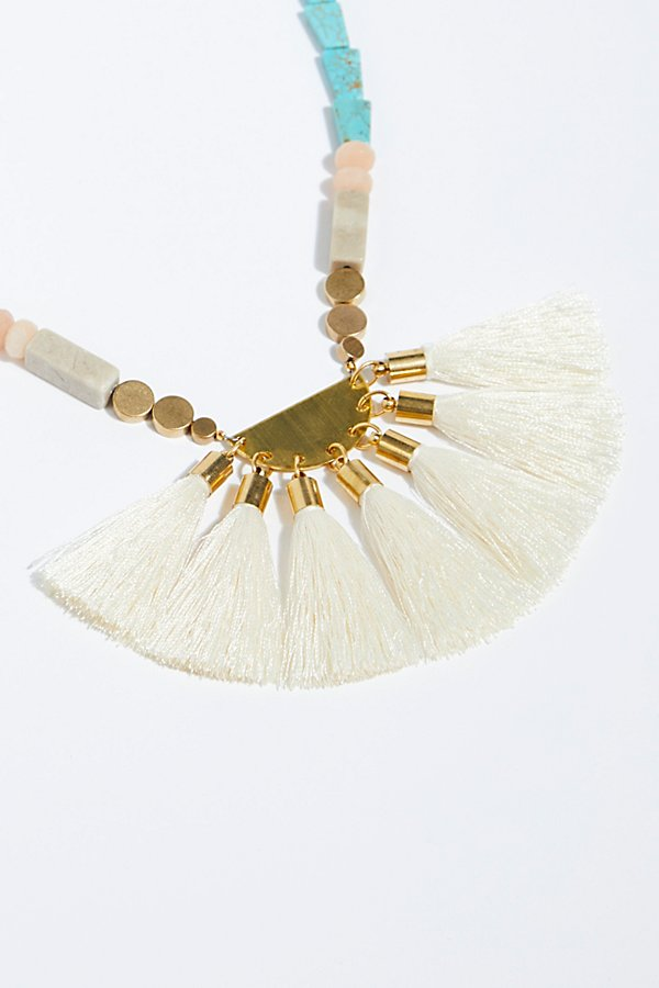 Slide View 4: Beach Walks Tassel Pendant