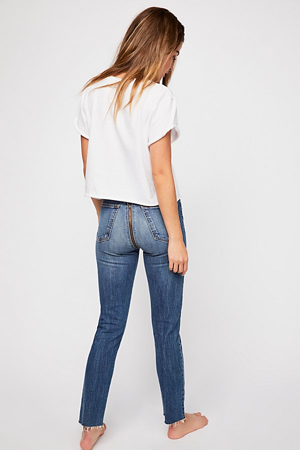 Slide View 2: SIWY Gloria Straight-Leg Jeans