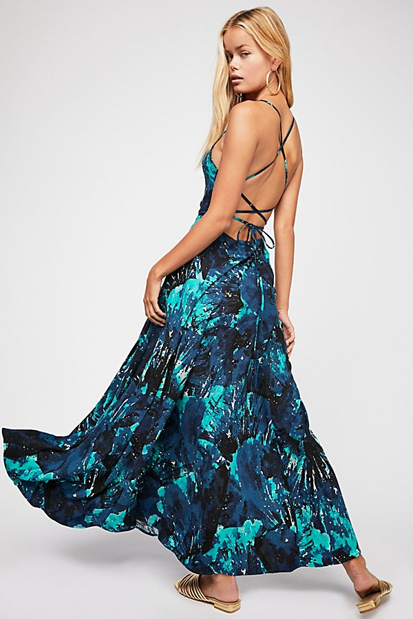 Slide View 1: Nellie Printed Maxi Dress