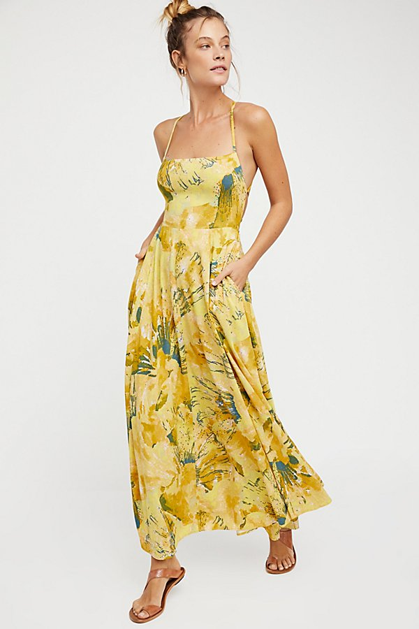 Slide View 2: Nellie Printed Maxi Dress