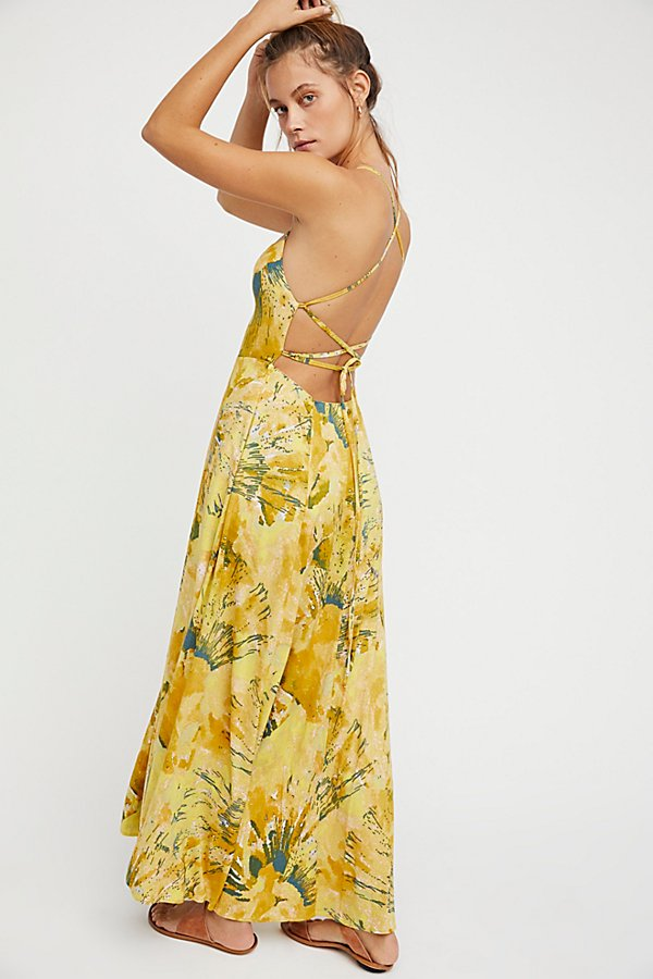 Slide View 3: Nellie Printed Maxi Dress