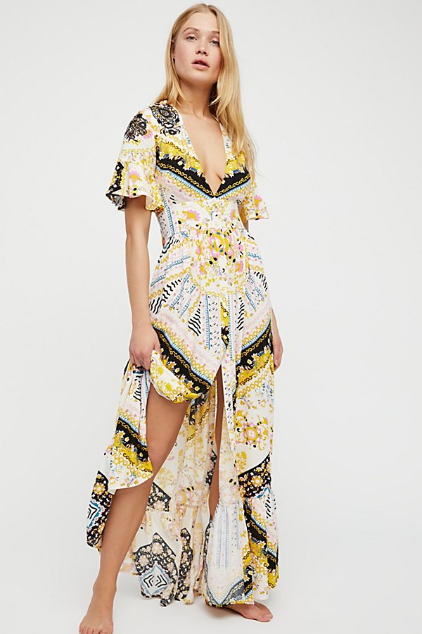 Slide View 1: Coco Printed Maxi Dress