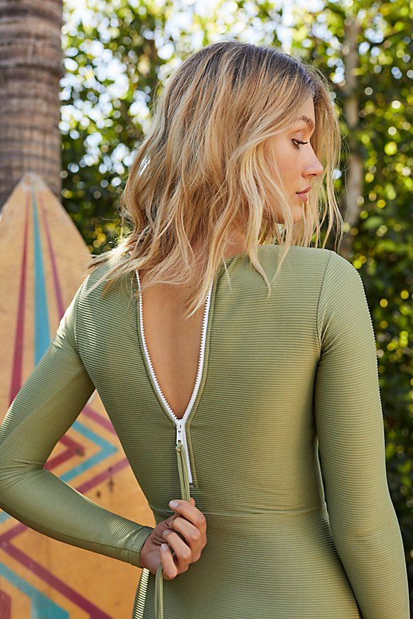 Slide View 4: Peniche Ribbed Surfsuit