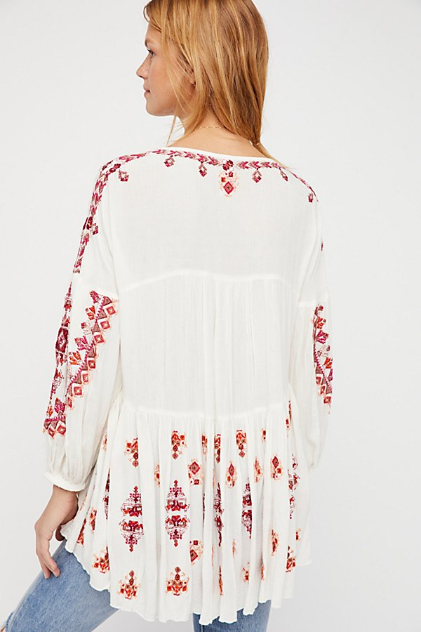 Slide View 2: The Arianna Embroidered Tunic