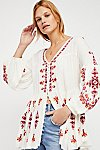 Thumbnail View 3: The Arianna Embroidered Tunic