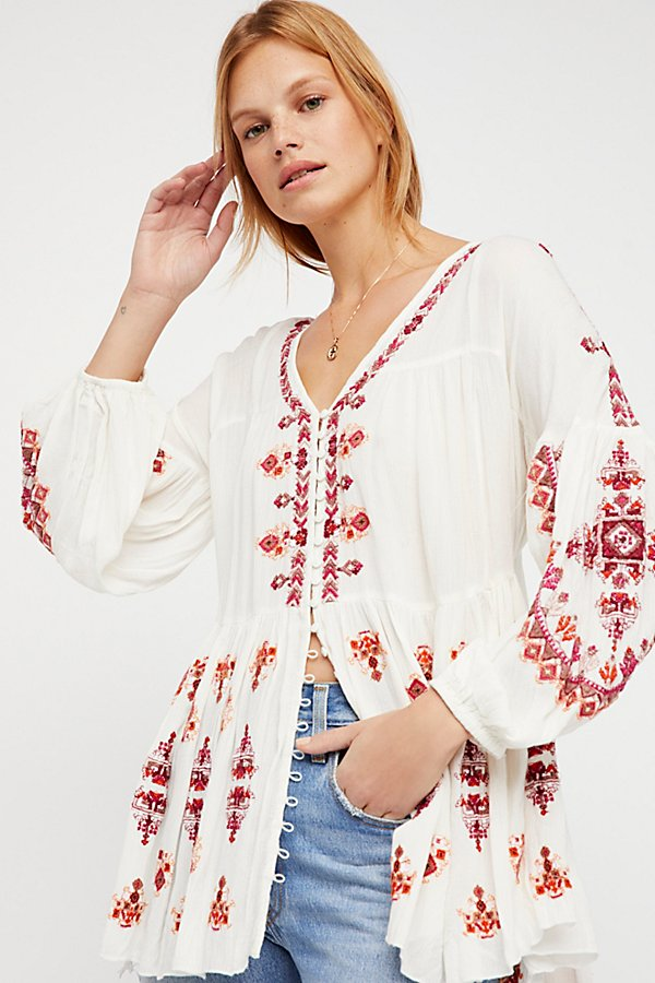 Slide View 3: The Arianna Embroidered Tunic