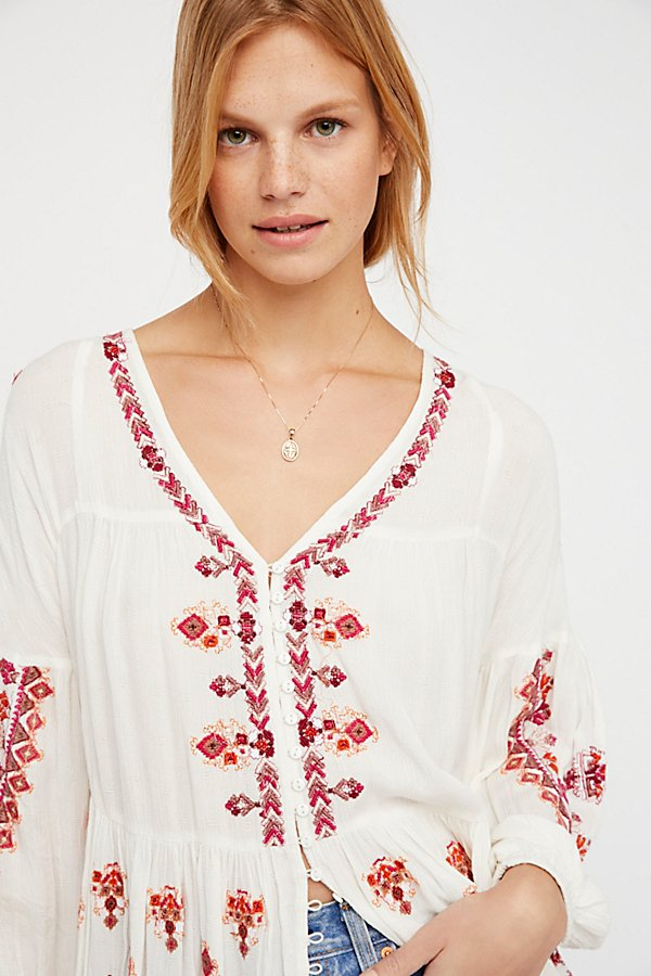 Slide View 4: The Arianna Embroidered Tunic