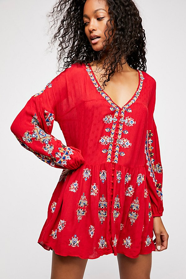 Slide View 1: The Arianna Embroidered Tunic