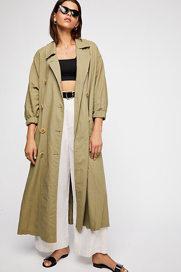 Slide View 2: Sweet Melody Trench Coat