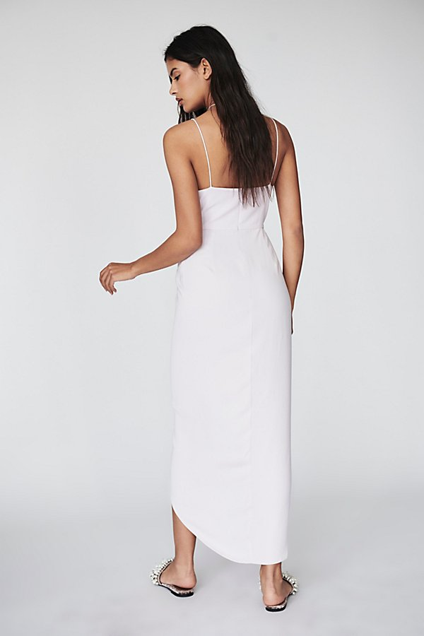 Slide View 2: Cocktail Draped Dress
