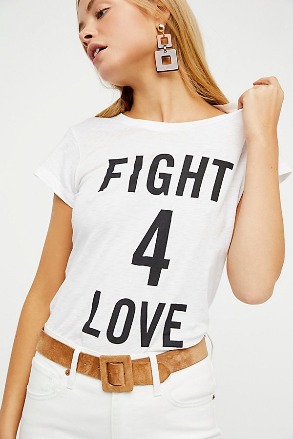 Slide View 2: Fight 4 Love Tee