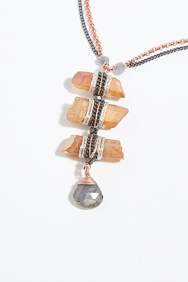 Slide View 3: Washed Ashore Ladder Necklace