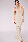 Thumbnail View 1: Lima Crochet Maxi Dress