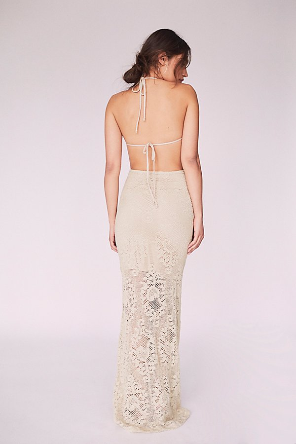 Slide View 2: Lima Crochet Maxi Dress