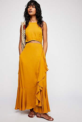 Bring On The Heat Maxi Dress