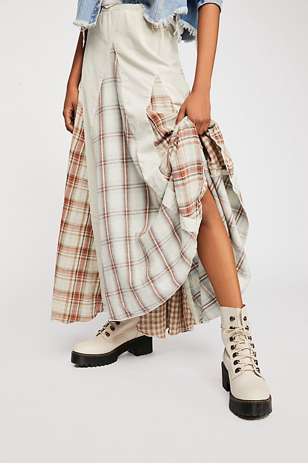 Slide View 4: Patchwork Maxi Skirt