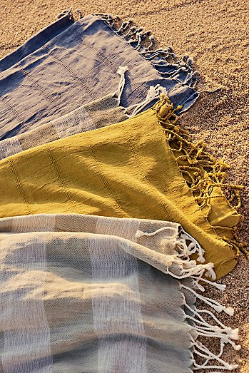 Shore Washed Lightweight Towel