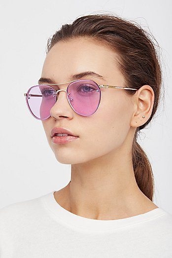 Living In Color Aviator Sunglasses