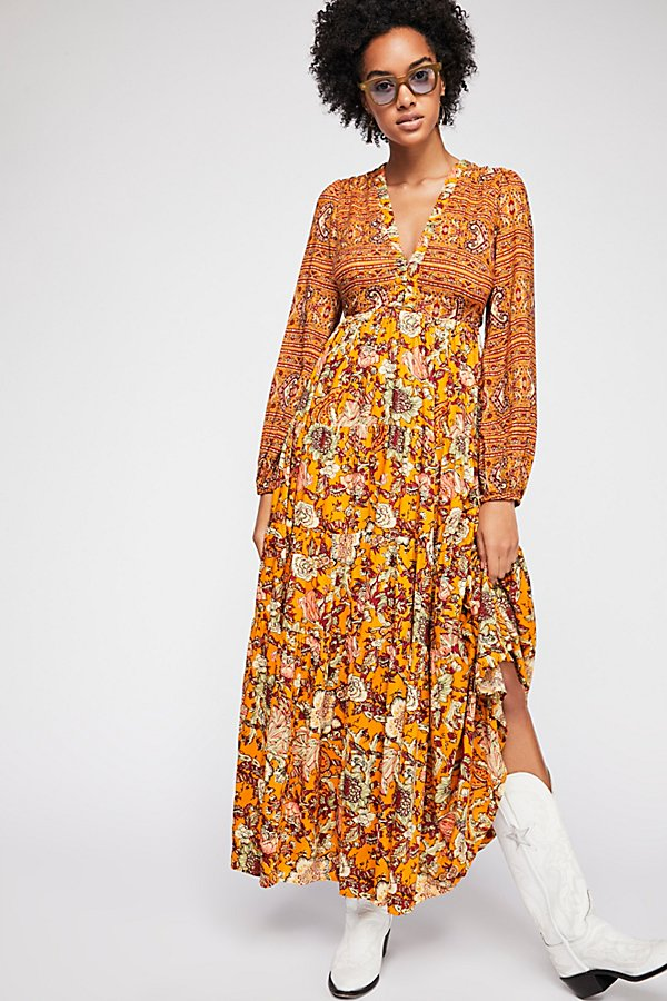 Slide View 1: Dove Long Sleeve Maxi Dress