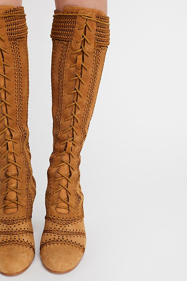 Slide View 1: Blaire Lace-Up Boot
