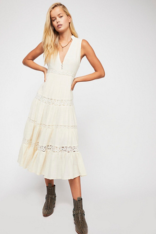 Doe Eyed Midi Dress by Free People