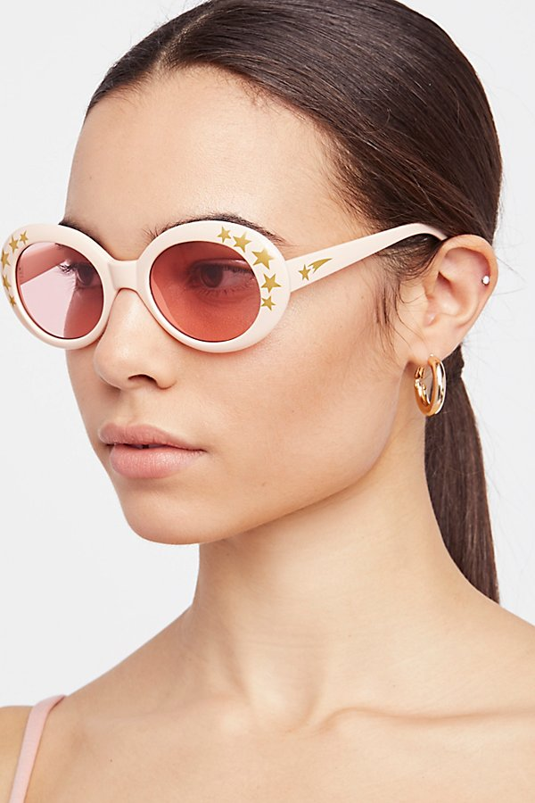 Slide View 1: Outta Sight Star Print Sunglasses