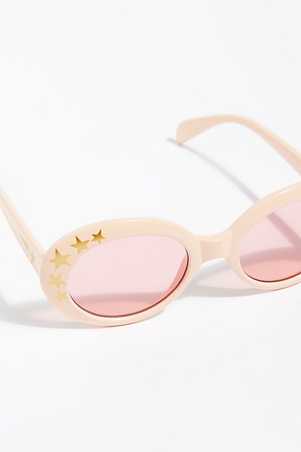 Slide View 3: Outta Sight Star Print Sunglasses
