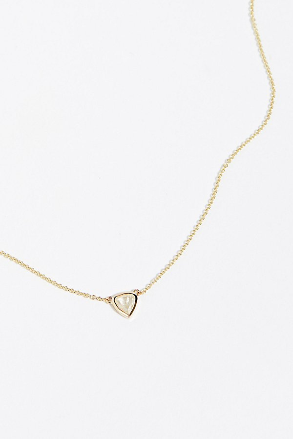 Slide View 1: 14k Bare Diamond Necklace