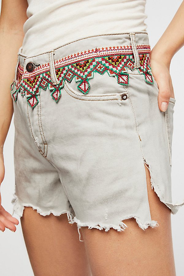 Slide View 3: Borderline Denim Cutoffs