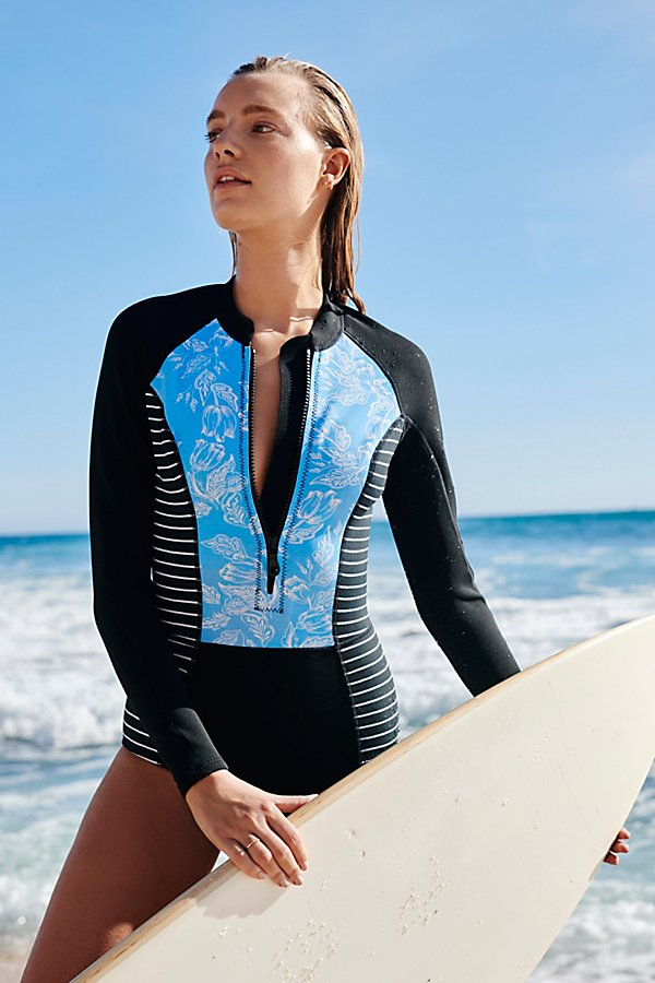 Slide View 3: Grazie Cheeky One-Piece Surf Suit