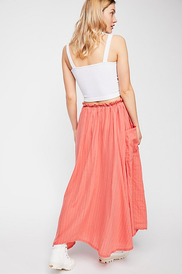 Slide View 1: Work It Out Maxi Skirt