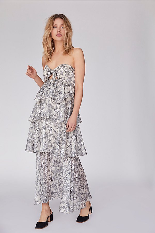 Slide View 1: Marea Tiered Maxi Dress