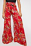 Thumbnail View 4: FP One Aloha Printed Wide Leg Trousers