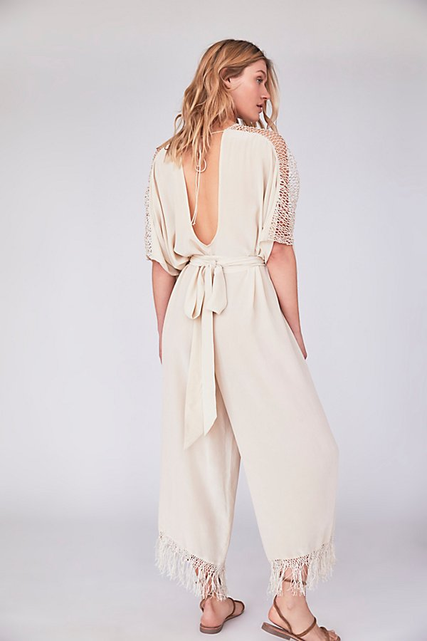 Slide View 3: Emma's Limited Edition White Jumpsuit