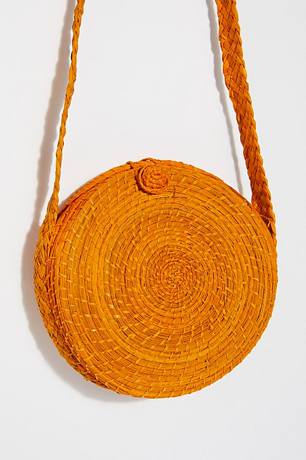 Slide View 3: Akumal Woven Circle Crossbody