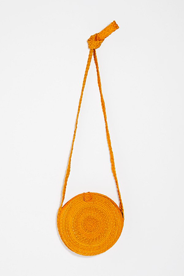 Slide View 4: Akumal Woven Circle Crossbody