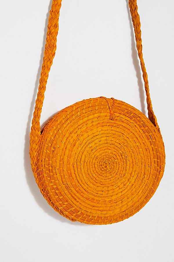 Slide View 5: Akumal Woven Circle Crossbody