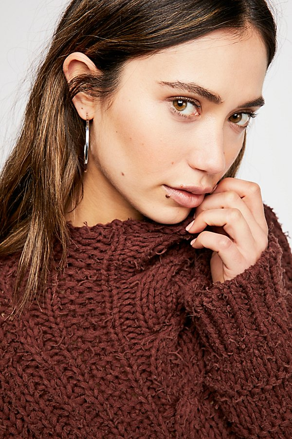 Slide View 3: Favorite Cable Sweater