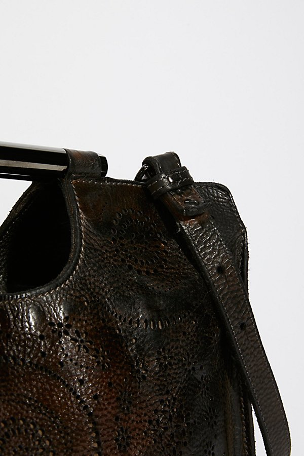 Slide View 3: Nightingale Leather Clutch