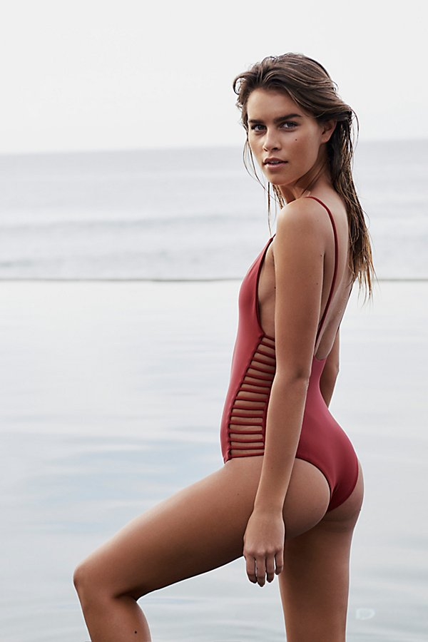 Slide View 1: Hermosa One-Piece Swimsuit