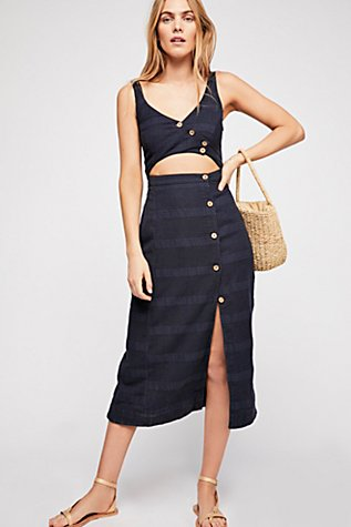 Free People Ultraviolet Midi