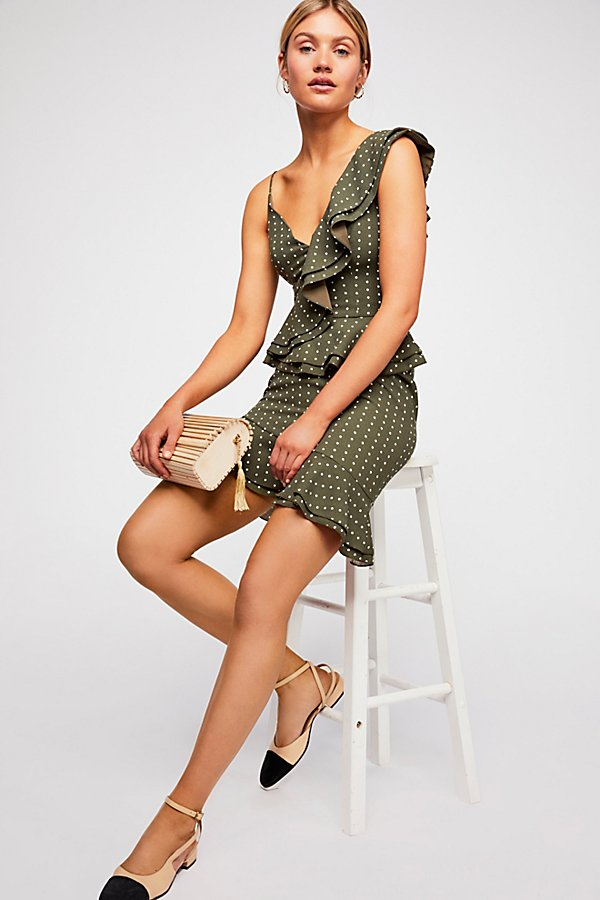 Slide View 1: Entice Short-Sleeve Mini Dress