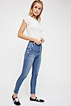 Thumbnail View 2: Ada High Rise Skinny Jeans