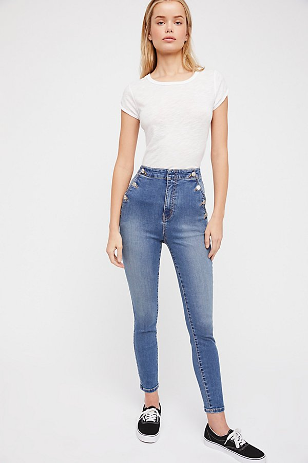 Slide View 4: Ada High-Rise Skinny Jeans